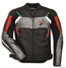 details about ducati dainese corse c3 leather jacket leather jacket perf black grey new