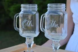 ... Personalized Mason Jar Wine Glasses ...