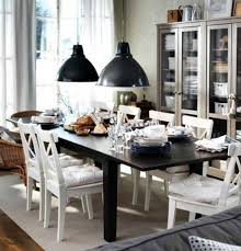 wood sideboard modern chandeliers teak woods materials dining room chairs ikea black twin pendnt lamp as well ikea round dining table glass dark wood floors