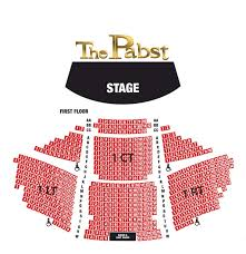 Pabst Theater Milwaukee Seating Chart Pabst Theater Seating Phillies Com Shop