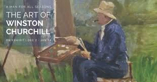 the art of winston churchill new exhibit in palm beach