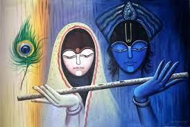 50 Beautiful Radha Krishna Paintings ...