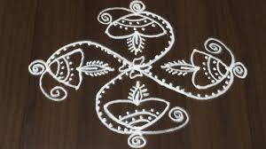 Step By Step Kolam Designs With Dots Rangoli Designs For Diwali Step By Step 7 To 1 Dots