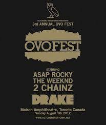 Ovofest Drake Concert Posters Company Logo Concert