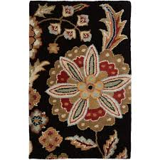 easy surya athena rug ath5017 black red rugs gracious style
