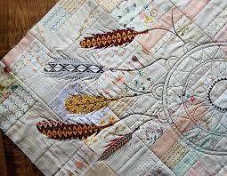 Dream Catcher Quilt Pattern Maureen Cracknell Handmade created this lovely dream catcher to 35