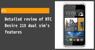 HTC Desire 210 dual sim - Features and ...