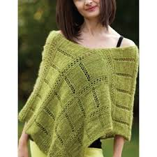 Knit Poncho Pattern Best Ladies' Capes Ponchos Knitting Patterns Planet Purl