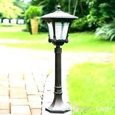 yard post light yard post light deck lamp post portfolio black outdoor garden lamp post light pole driveway yard deck lamppost solar yard light post solar