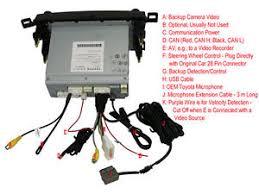 toyota rav4 wiring harness usb aux av bluetooth microphone camera toyota wiring harness used image is loading toyota rav4 wiring harness usb aux av bluetooth