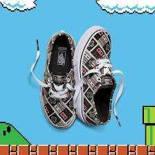 vans nintendo shoes. vans-nintendo-controller-authentic-infant-and-junior-shoes vans nintendo shoes