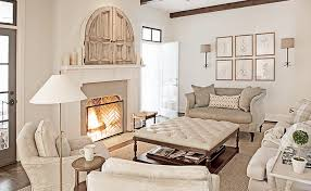 living room with tv over fireplace. Monochromatic Living Room With Tv Over Fireplace S