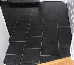 Porcelain Tile For Kitchen Floors Black Porcelain Tile Floorjpg
