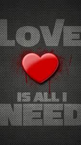 Heart V Love P Wallpaper