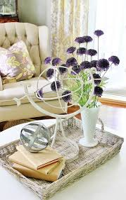 Decorating With Trays On Coffee Tables Four Simple Tips for Decorating With Trays Thistlewood Farm 85