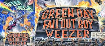 Wrigley Field Seating Chart Fall Out Boy Green Day With Fall Out Boy And Weezer Wrigley Field