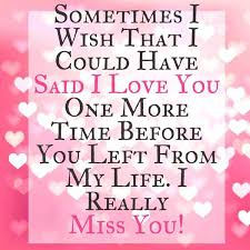 Miss You And Love You Quotes Amazing Best Love Quotes I Love You Really I Miss You BoomSumo Quotes