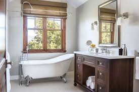 clawfoot tub bathroom ideas. Beige Shade And Small Clawfoot Tub Using Traditional Cabinet Storage Organizers For Enticing Bathroom Ideas S