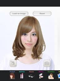 Hairstyle Simulator App hairstyle simulator simfront android apps on google play 6160 by stevesalt.us