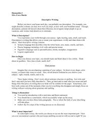 Descriptive Essay Thesis Statement Examples Good Descriptive Essay Write On Any Unusual Or Humorous