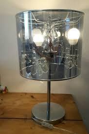Design Lampe Kronleuchter Tischleuchte Retro