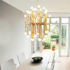 led dining table lights heads hanging modern led pendant chandelier lights for living room dining room