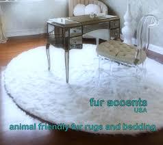 round faux fur rug designs