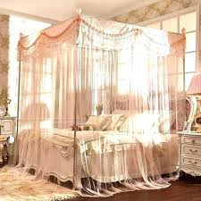Queen Size Canopy Medium Queen Size Bed Canopy Curtains Images ...