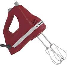 kitchenaid hand mixer 5 speed. amazon.com: kitchenaid ultra power 5-speed hand mixer, empire red: beaters: kitchen \u0026 dining kitchenaid mixer 5 speed