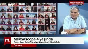 Medyascope 4 yaşında - Ruşen Çakır ve Sedat Pişirici anlatıyor - YouTube