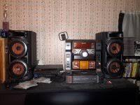 sony home stereo. sony home stereo system, - lbt-zx66i, 2014, 5 disk cd