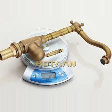 2019 <b>Home Improvement Accessories Antique</b> Brass Kitchen Faucet ...