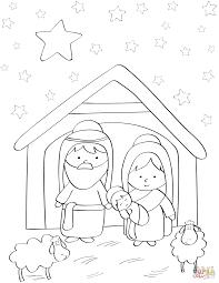 Baby Jesus Coloring Page Dapmalaysiainfo