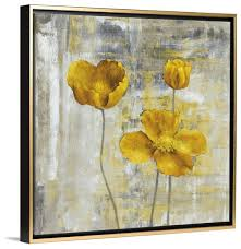 yellow and gray canvas wall art design ideas framed flower simple amazing home on yellow and grey wall art canvas with yellow and gray canvas wall art wehanghere