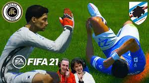SOLO GOL dei PORTIERI   SPEZIA vs SAMPDORIA   Fifa 21 Gameplay *PALLA  MATTA* - YouTube