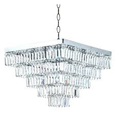 square crystal chandelier new modern string big hotel lobby lighting free in chandeliers from lights
