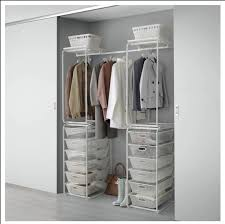 open wardrobe storage ikea algot