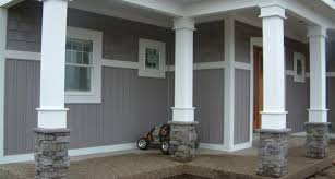 Search House Outdoor Porch Post Front Columns Porches