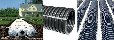 corrugated drain pipe pipe 4 corrugated drain pipe menards