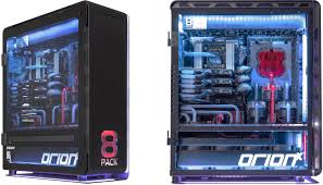 conceptually the 8pack orionx resembles the aforementioned platform from ecs but rather than putting two cpus on one board with a jumper