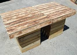 Recycled pallets outdoor furniture Wood Pallet Diy Outdoor Table Recycled Pallet Outdoor Table Pinterest Diy Outdoor Table Recycled Pallet Outdoor Table Hmcreativosco