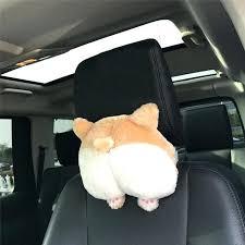 bottom car seat covers best ing novelty corgi bottom car seat neck pillow dog ocks headrest cushion plush sheepskin car seat covers bottom only uk