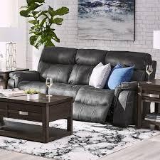 morrow ii reclining sofa grey