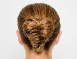 Heart Shaped Hair Style heart shaped fishtail bun youtube 3150 by wearticles.com