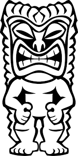 Small Picture Free Printable Coloring Tiki Mask Coloring Pages 74 For Your