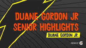 Duane Gordon Jr. - Hudl