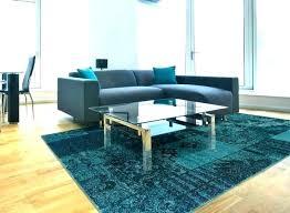 mid century modern style living room rugs area nature design blue t92 century