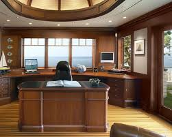 Modern Home Office Desk Wood Thedigitalhandshake Furniture