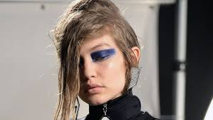 think of blue eyeshadow and you ll most likely draw on painful memories of being far too liberal with a bit of barry m dazzle dust as a 13 year old