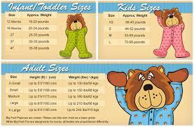 Big Feet Pjs Size Chart Amazon Com Seller Profile Big Feet Pajama Co
